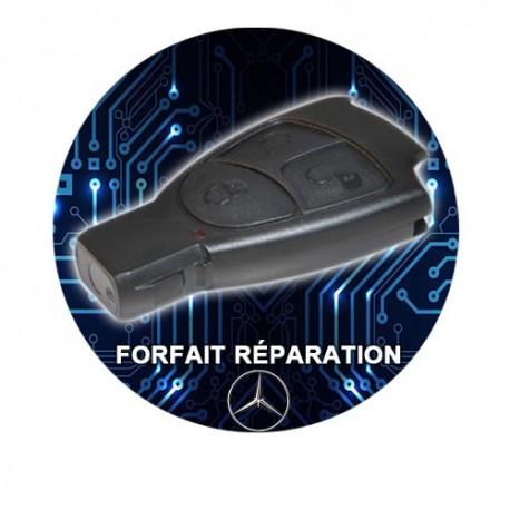 Réparation télécommande Mercedes