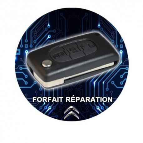 Réparation Clé Télécommande Citroën 3 boutons