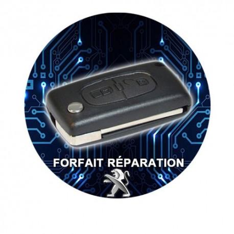 Forfait réparation clé 207 307 308 407