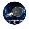 Forfait réparation Clé Peugeot 206 1 boutons