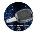 Forfait réparation Télécommande Opel Vivaro Movano