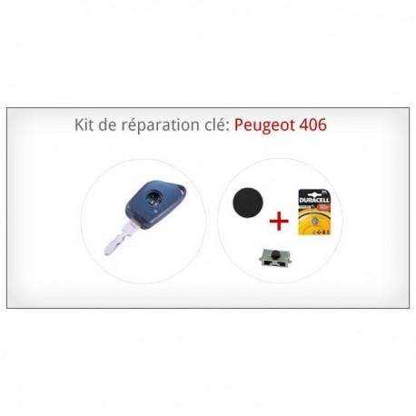 Kit de réparation télécommande Peugeot 406