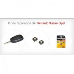 Kit de réparation clé Renault Nissan Opel