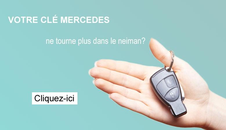Réparation clé Mercedes
